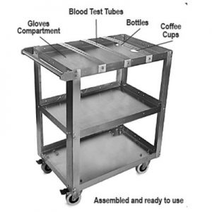 Stainless steel Carts (Medical & Restaurant)