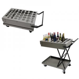 Foldable Aluminium Liquor cart